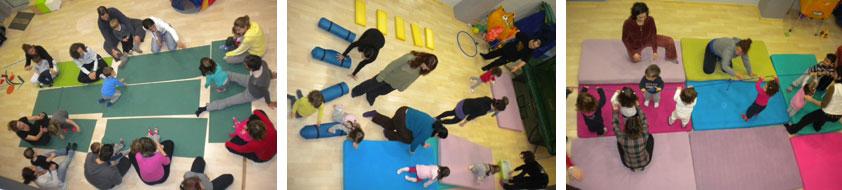 γυμναστική για μωρά στα Βριλήσσια