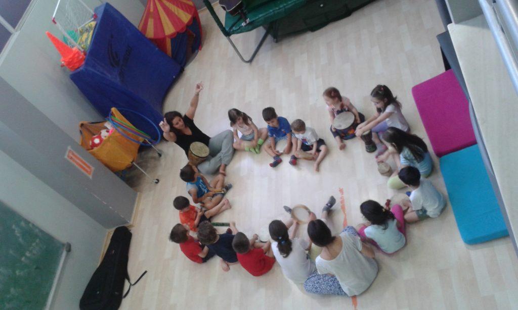 πρωινό τμήμα ψυχοκινητικής στο playgym στα Βριλήσσια